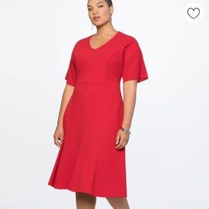 Eloquii red dress